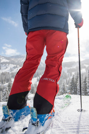 Arctica Youth Side Zip Snow Pants 2.0 - Red
