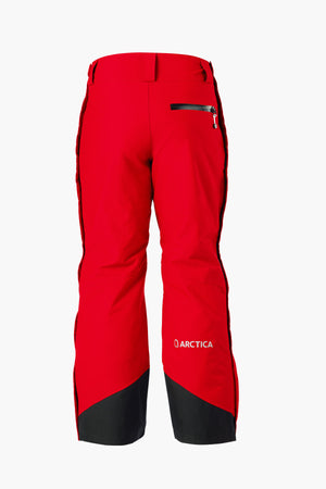 Arctica Youth Side Zip Ski Pants 2.0 - Red
