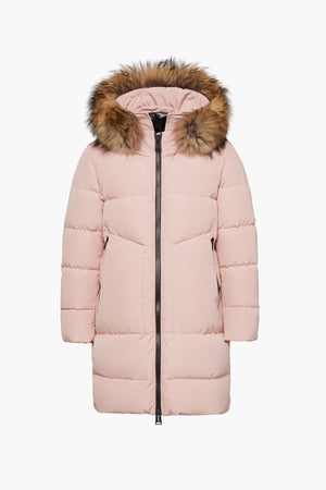 ADD Down Girls Parka - Rose