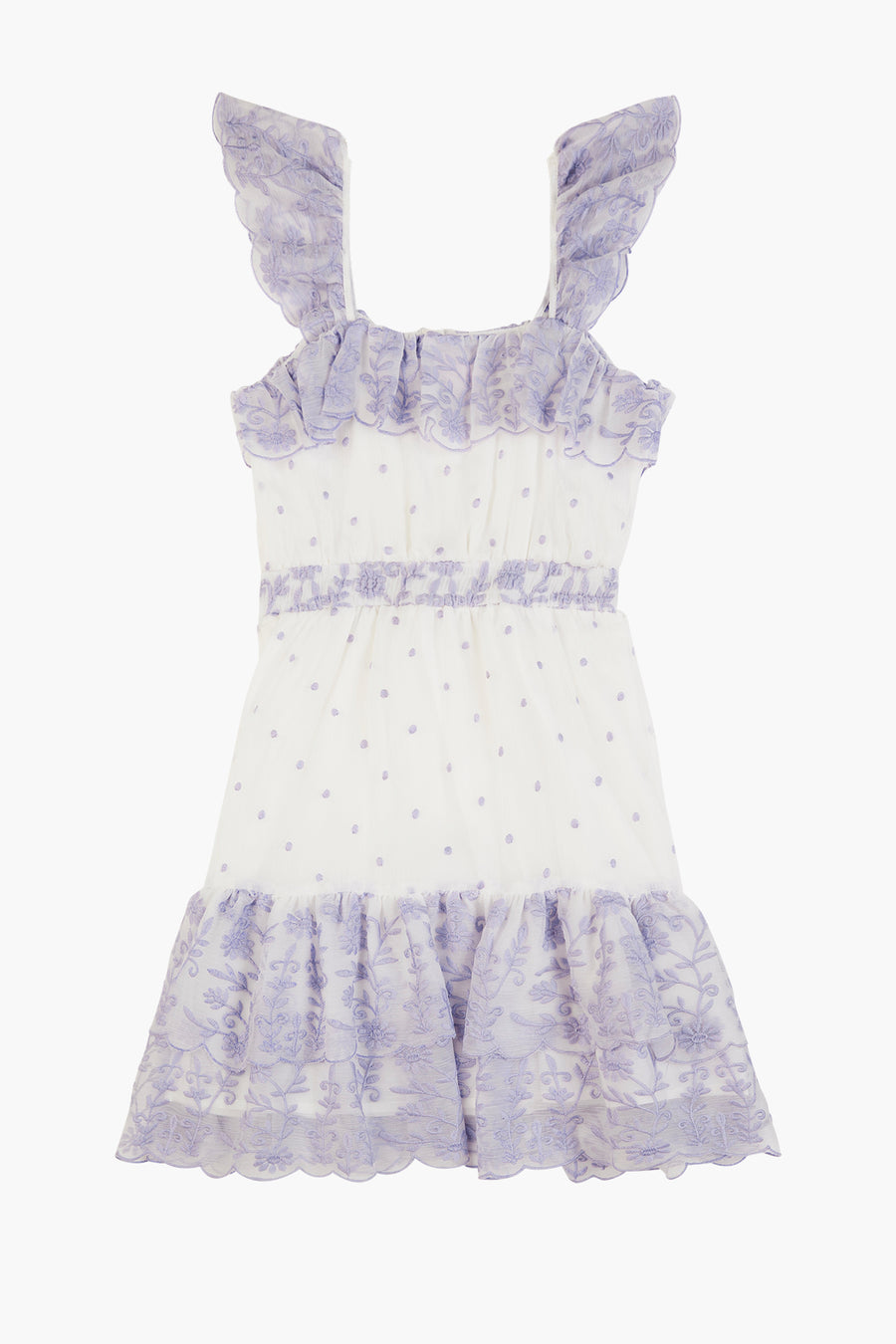 Marlo Rosie Girls Dress - Lavender
