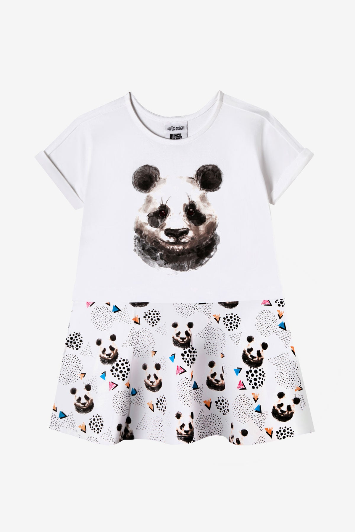 Art & Eden Sahara Panda Dress