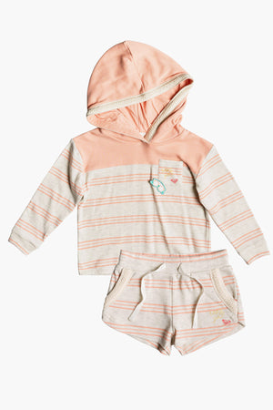 Roxy First Friend Hoodie And Shorts Set