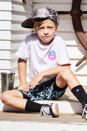 Munster Kids Skullbiscus Boys Shorts