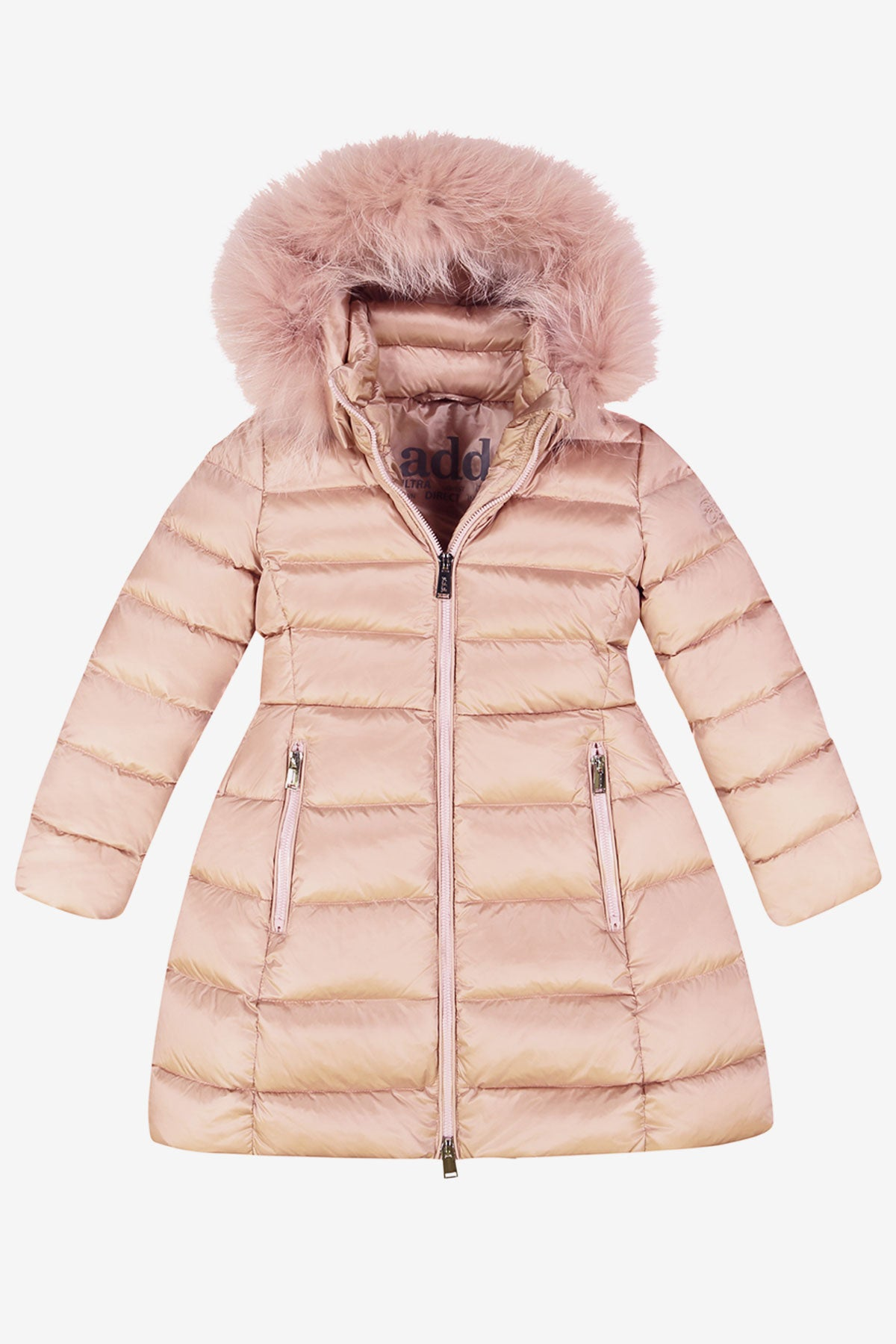 94526c326f2f ADD Down Hooded Down Coat - Smoke Rose - Mini Ruby