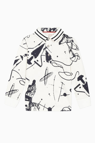 Catimini Astronaut Polo Shirt