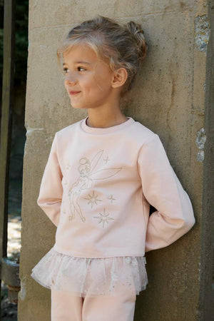 Wheat Tinker Bell Girls Sweatshirt