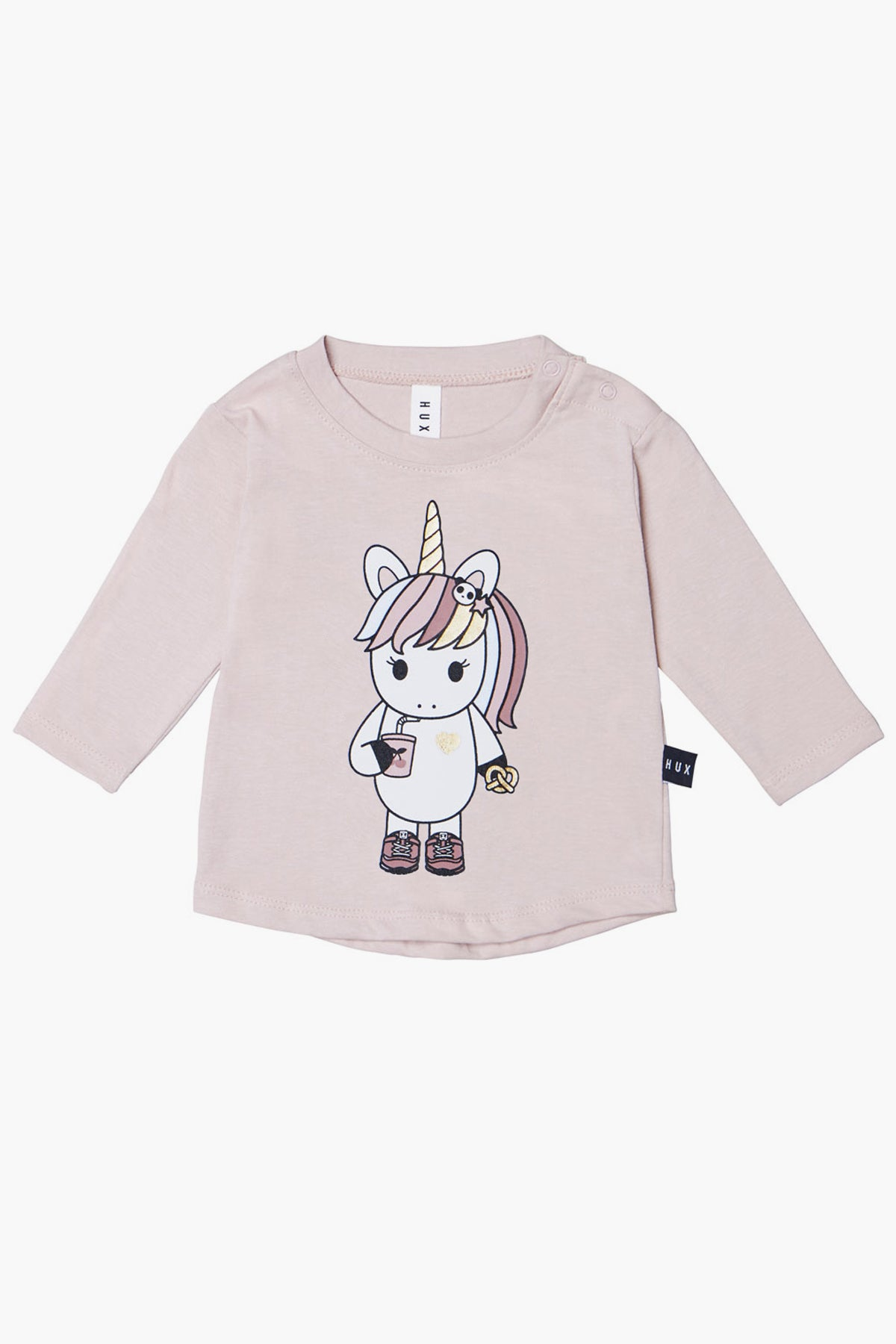 Huxbaby Unicorn Girls Tee