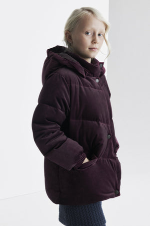 Mini A Ture Akecea Velour Girls Coat