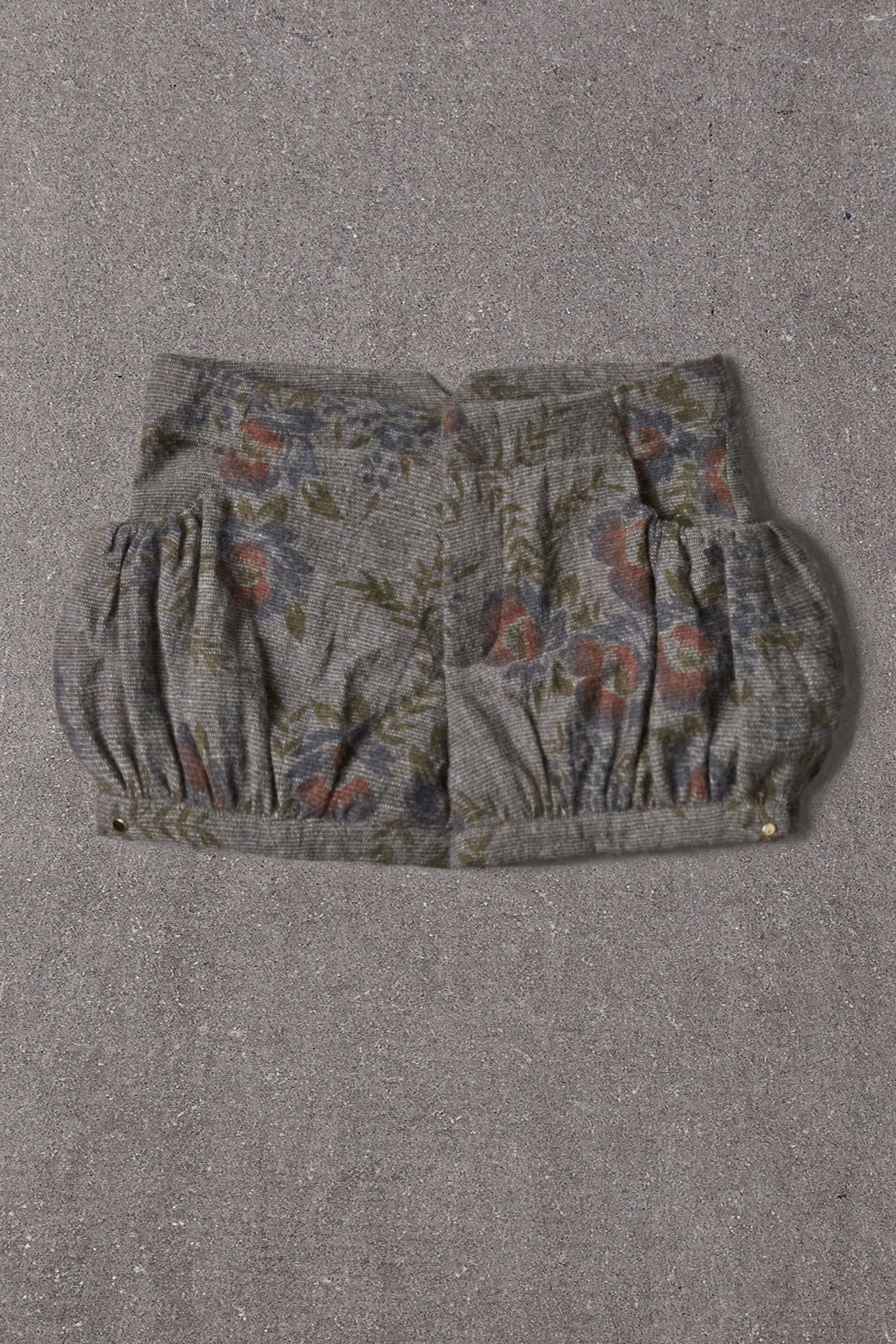 Nellystella Viola Short - Grey Wool Floral
