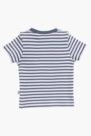 Wheat Baby Boy Striped T-Shirt