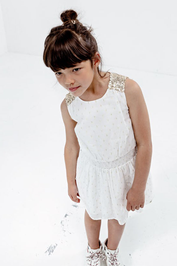 IKKS Junior Baby-M/ädchen Robe Ray/ée Santa Monica Rock