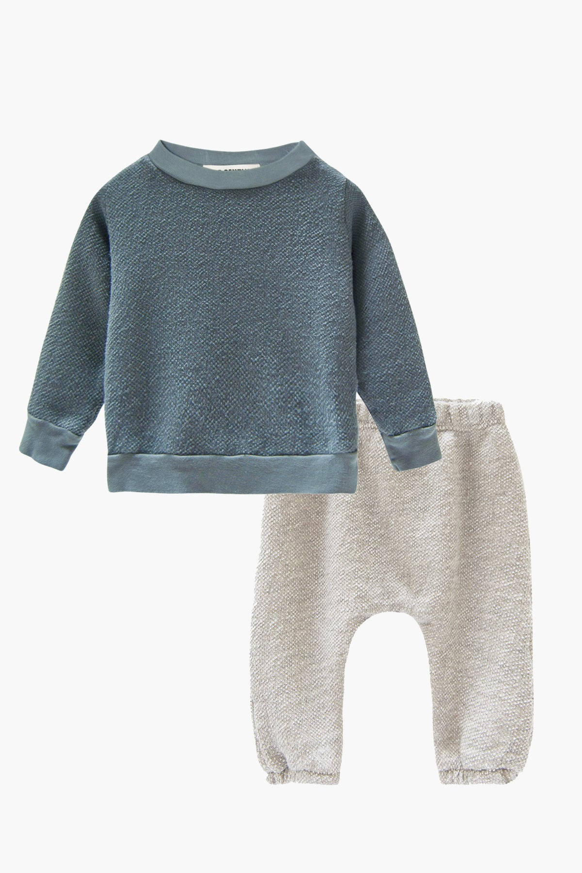 Go Gently Nation Textured 2-Piece Baby Set