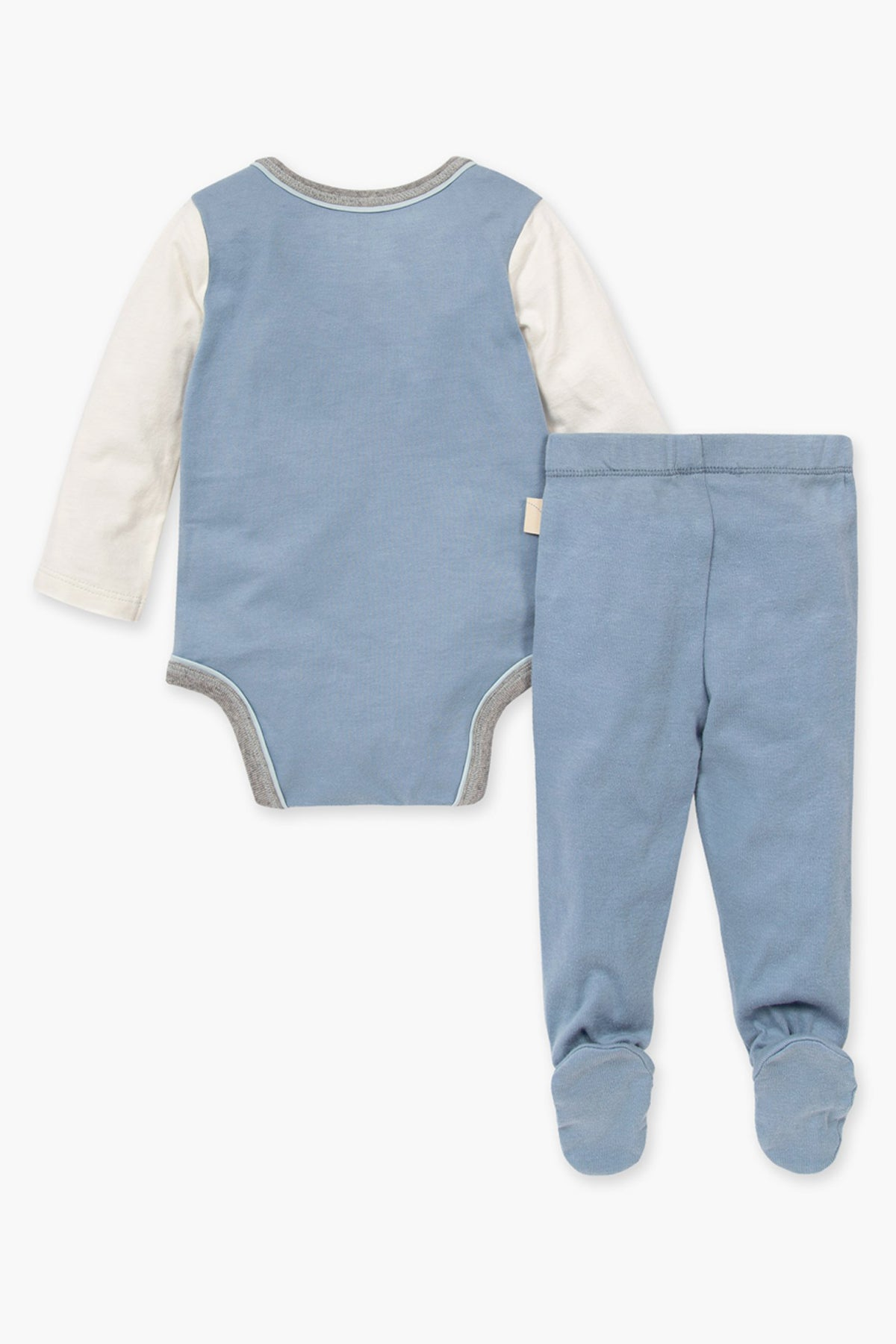 Burt's Bees Mountainscape Onesie And Baby Pants Set