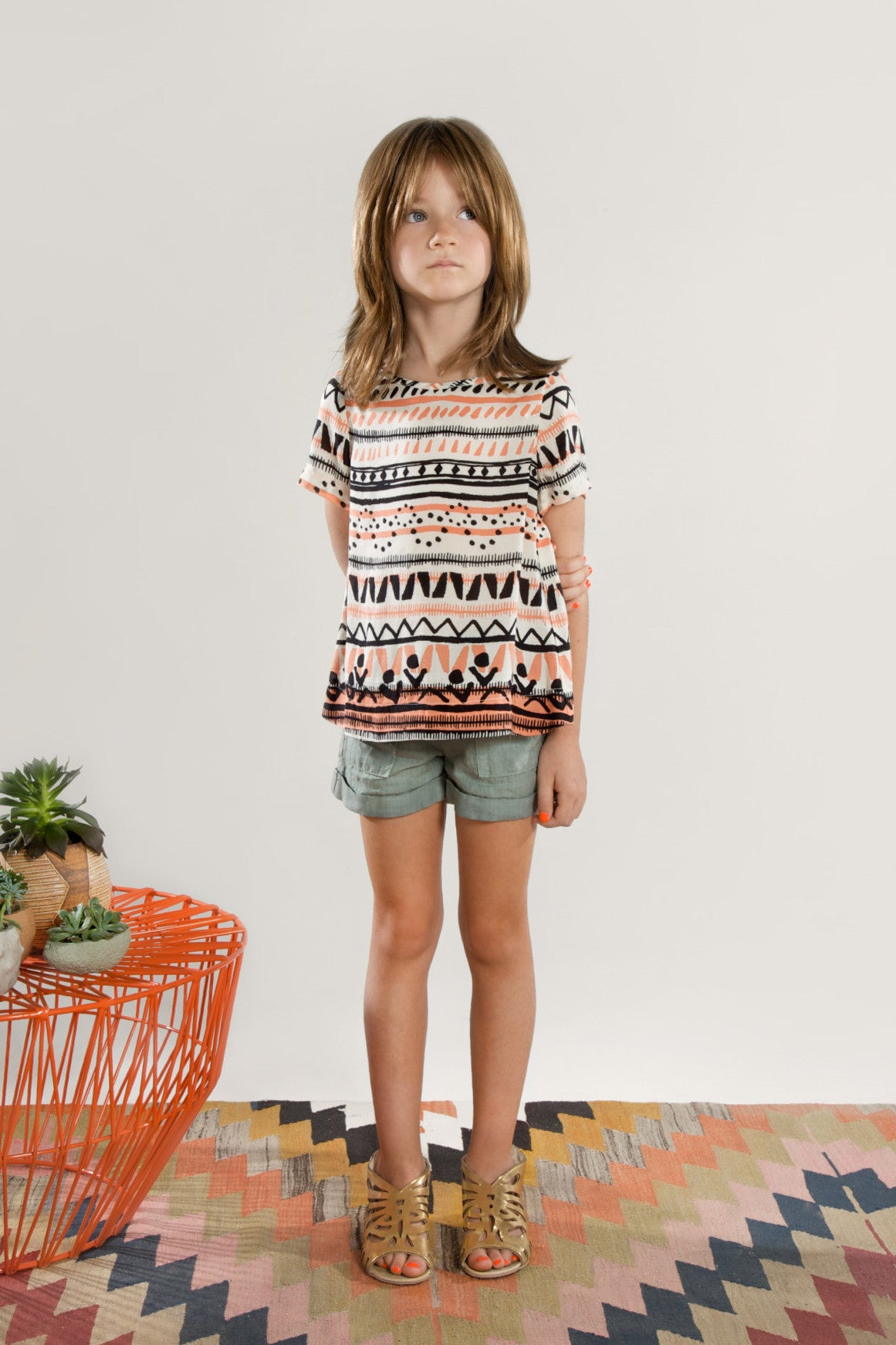 Anthem of the ants dunes girls shorts at mini ruby contemporary