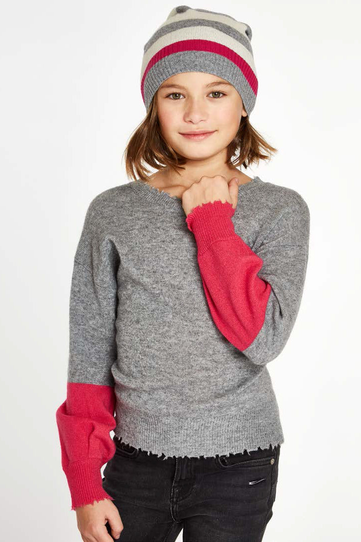 Autumn Cashmere Balloon Sleeve Sweater