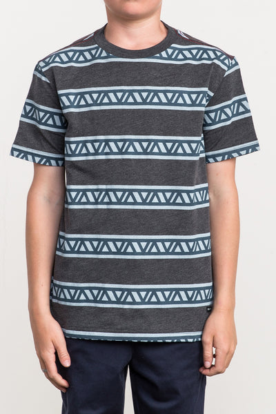 RVCA VA Repeater Short Sleeve Tee - Black