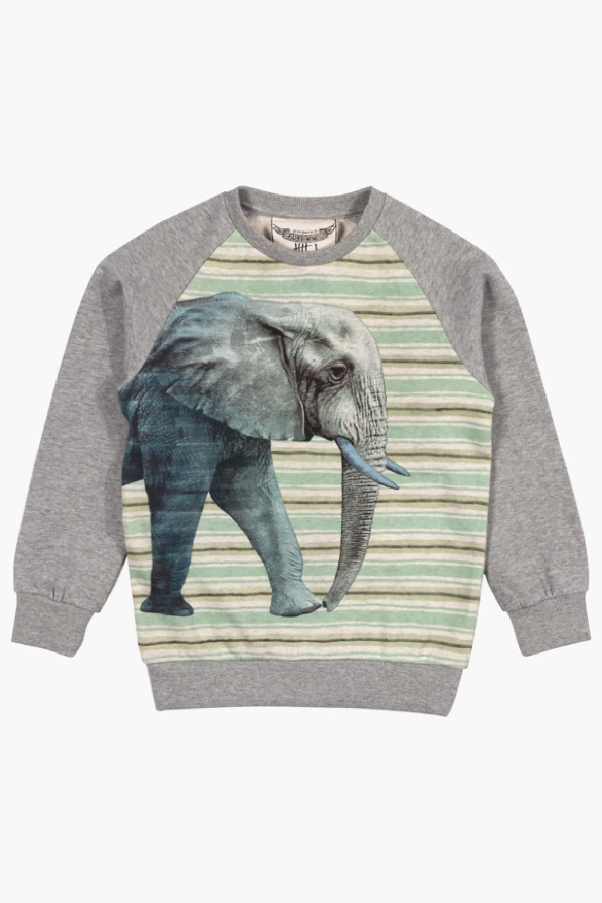 Paper Wings Elephant Sweatshirt