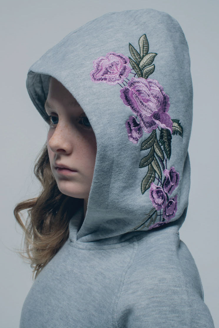 Joe's Jeans Girls Brushed Floral Hoodie