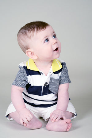 Jean Bourget Baby Boy Polo Shirt