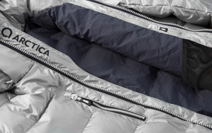 Arctica Youth Classic Down Packet - Silver
