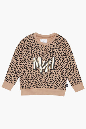 Huxbaby Mini Leopard Girls Sweatshirt