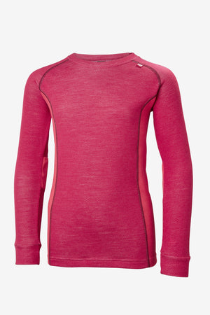 Helly Hansen Jr Lifa Merino Set - Persian Red
