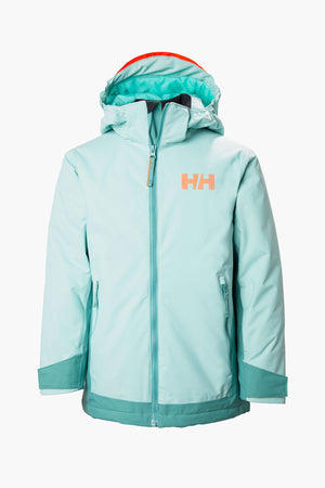 Helly Hansen Jr Hillside Jacket - Blue Haze