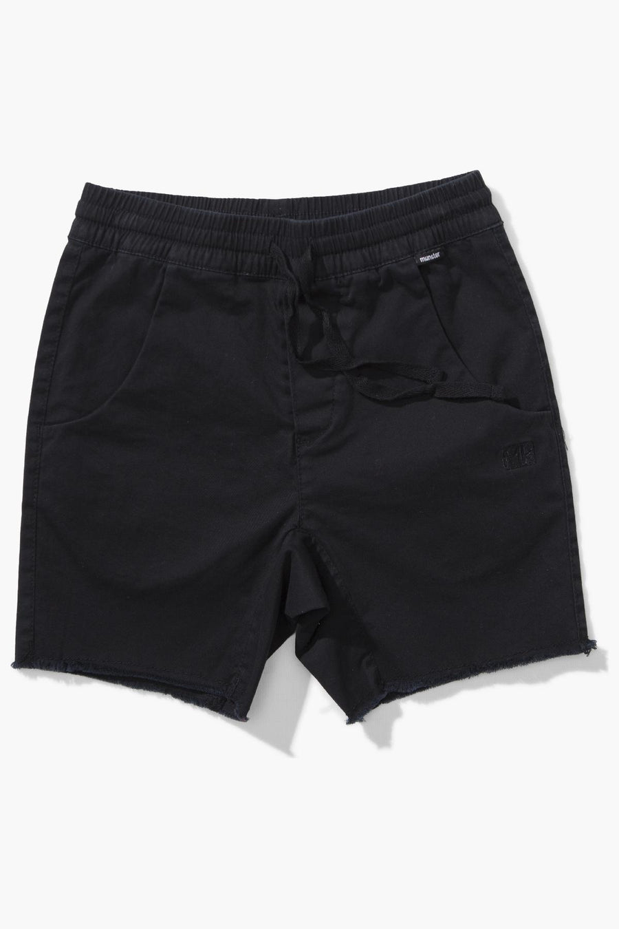Munster Kids Keramas Short - Black
