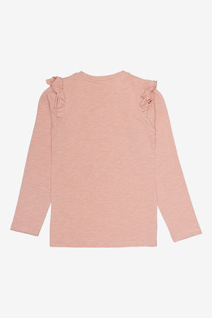 Soft Gallery Maddy Long Sleeve Tee - Pink Panda