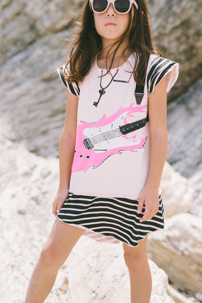 Mini Shatsu Rock Guitar Dress