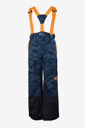 Helly Hansen Jr No Limits Snowpants - Navy Camo