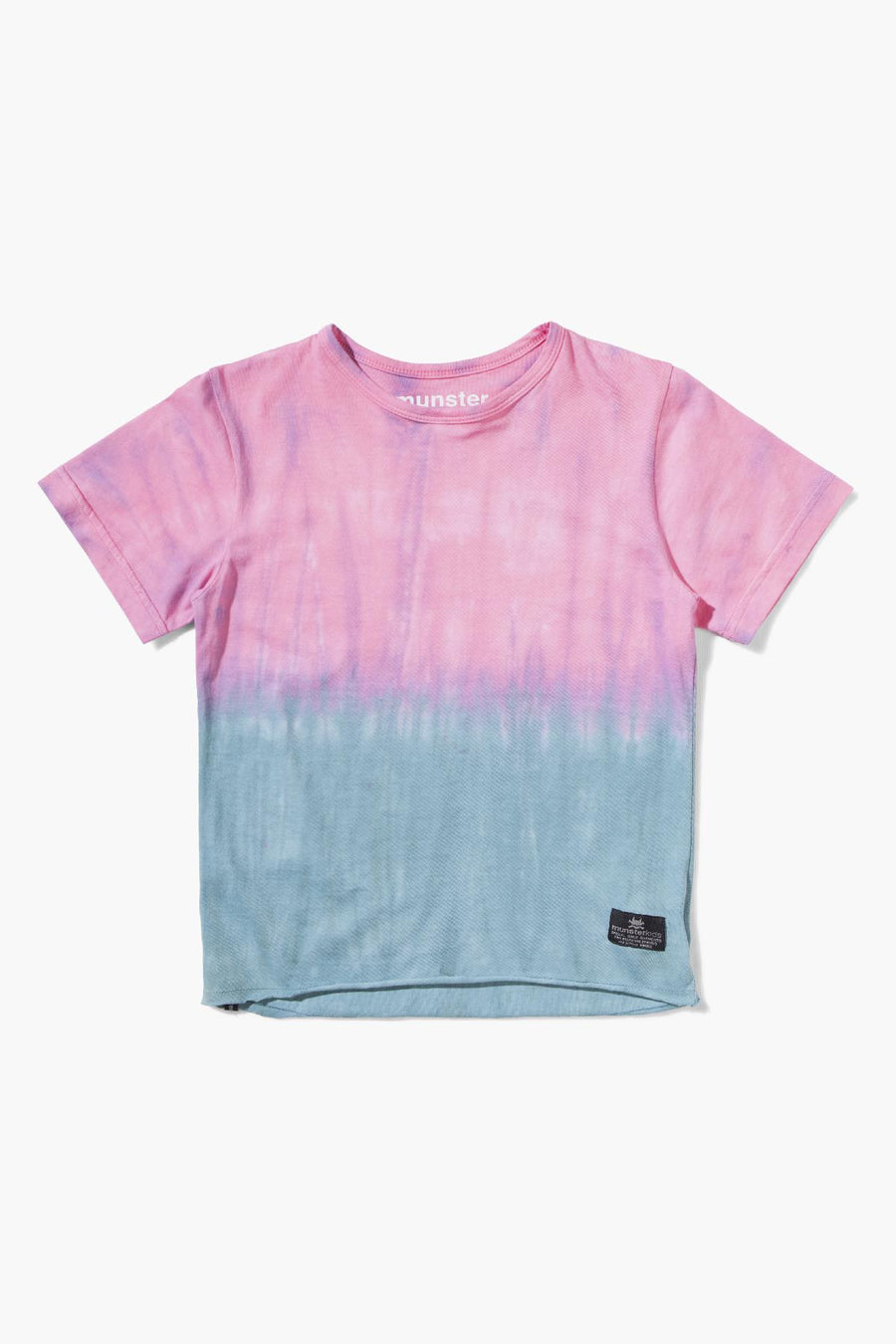 Munster Kids Splitz Boys T-Shirt - Magenta