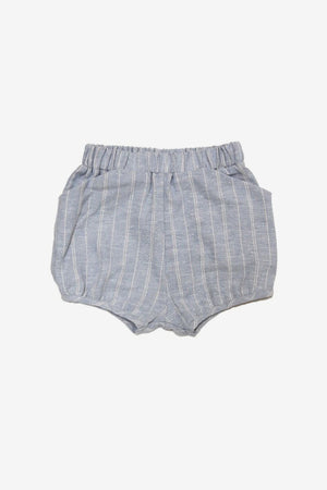 Go Gently Nation Stripe Woven Girls Short (Size 6 left)