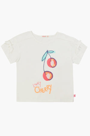 Billieblush Cherry Girls Shirt