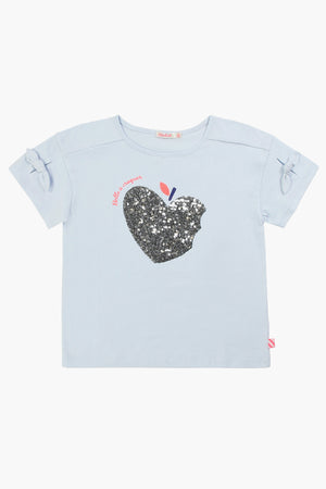 Billieblush Blue Sequin Girls Shirt