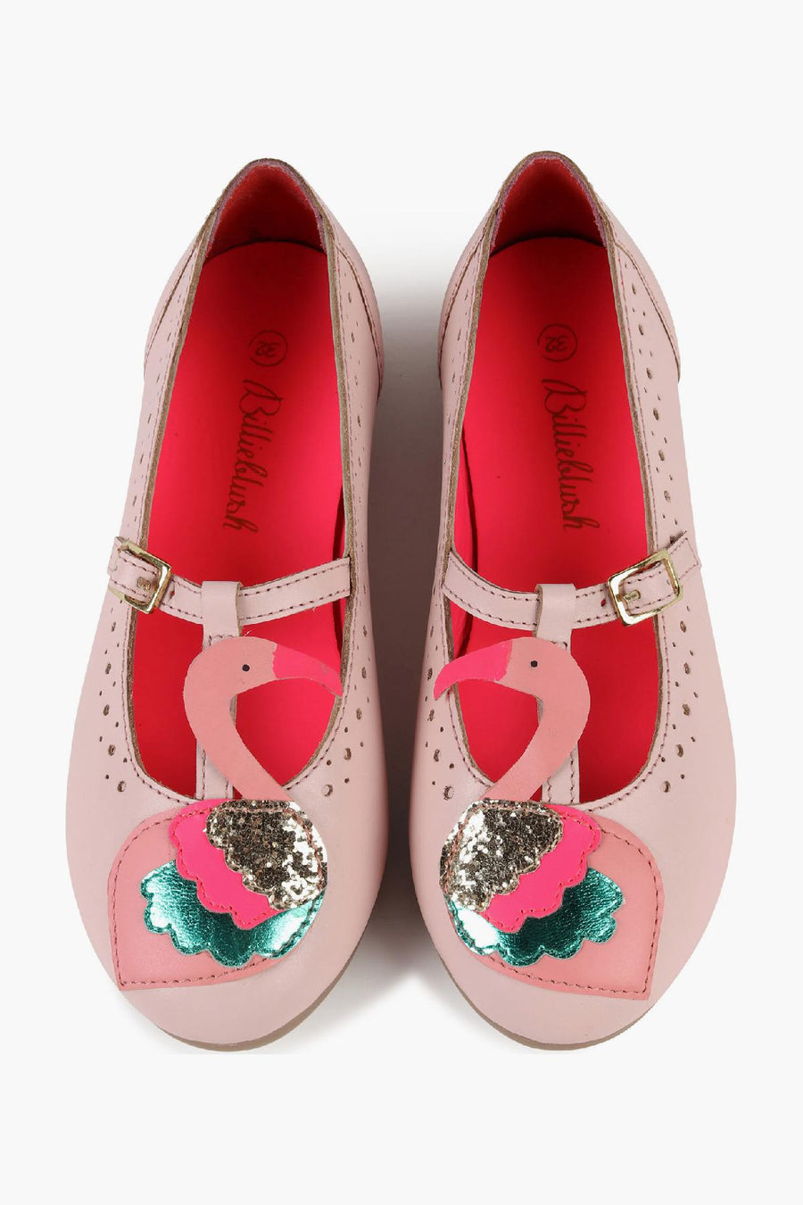 Billieblush Flamingo Mary Jane Kids Shoes