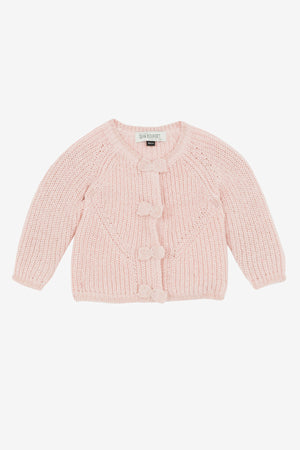 Jean Bourget Baby Girls Mohair Sweater