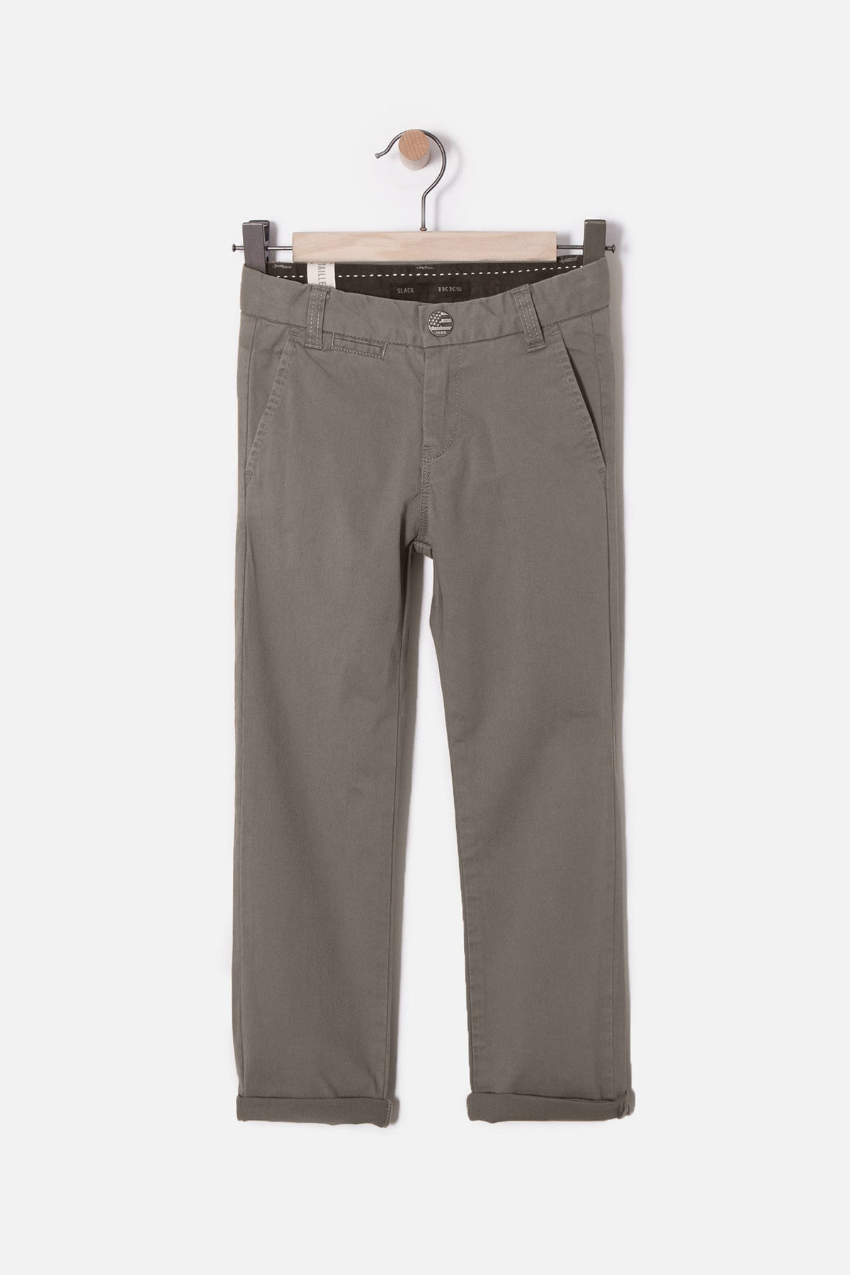 IKKS Brushed Cotton Boys Chinos