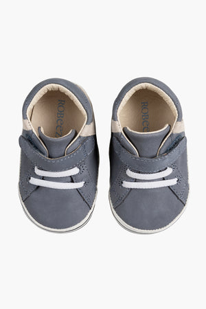 Robeez Adam Baby Boys Shoes - Grey