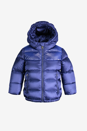 ADD Down Baby Boys Jacket with Mitts