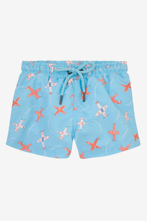 Sunuva Baby Boys Airplane Swim 2-piece Set