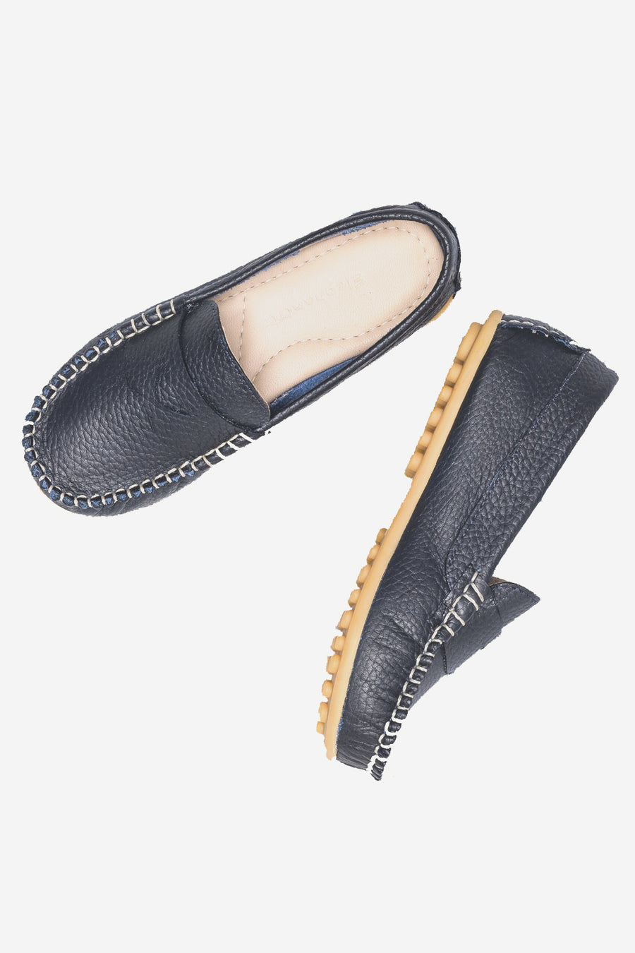 Elephantito Alex Drivers Boys Shoes - Navy