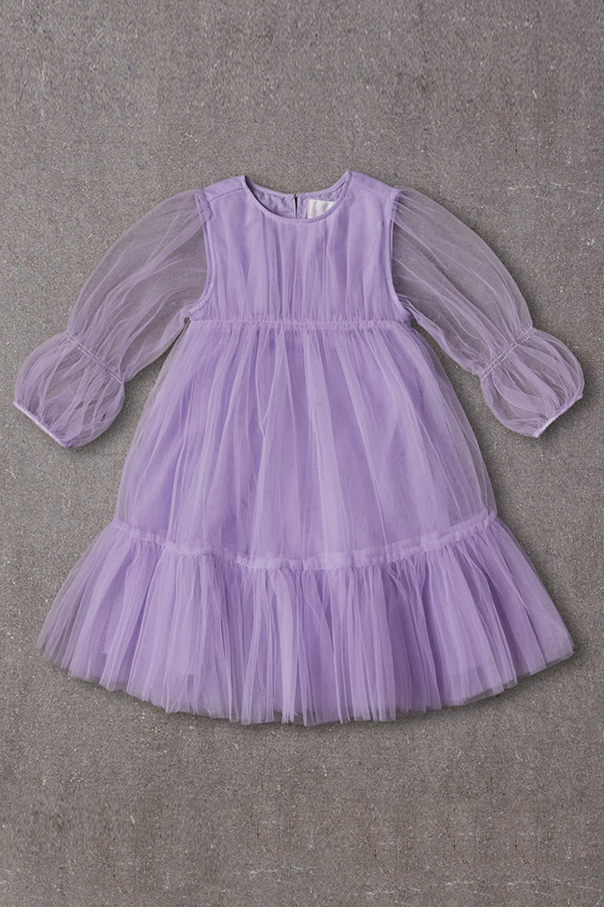 Nellystella Alice Girls Dress - Purple Haze