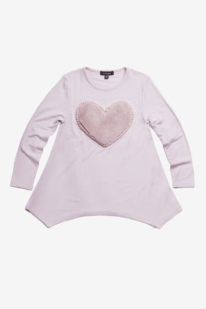 Imoga Amber Girls Tunic - Heart Powder