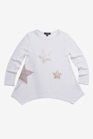 Imoga Amber Girls Tunic- Star Snow