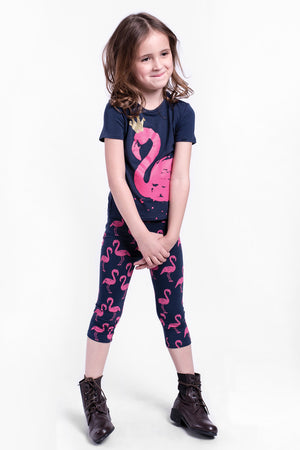 Imoga Eleni Girls Leggings - Flamingo