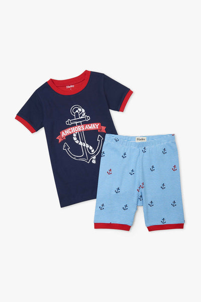 Hatley Anchors Away Boys Pajama Set