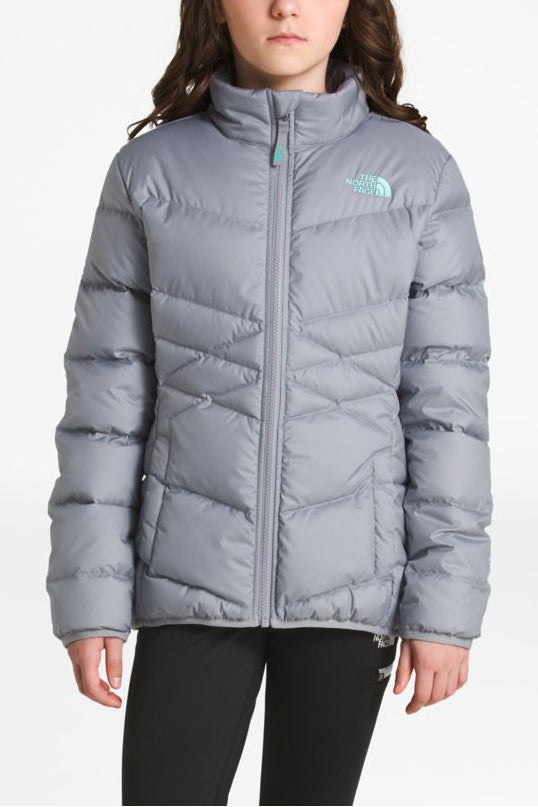 bf0f98ad0 The North Face Girls Andes Down Jacket - Atomic Pink - Mini Ruby