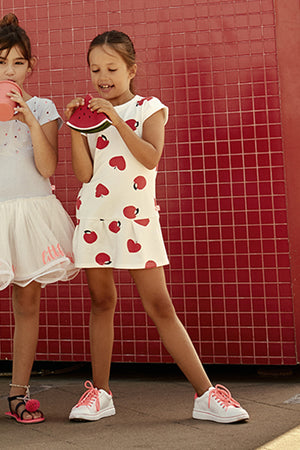 Billieblush Apples Girls Dress