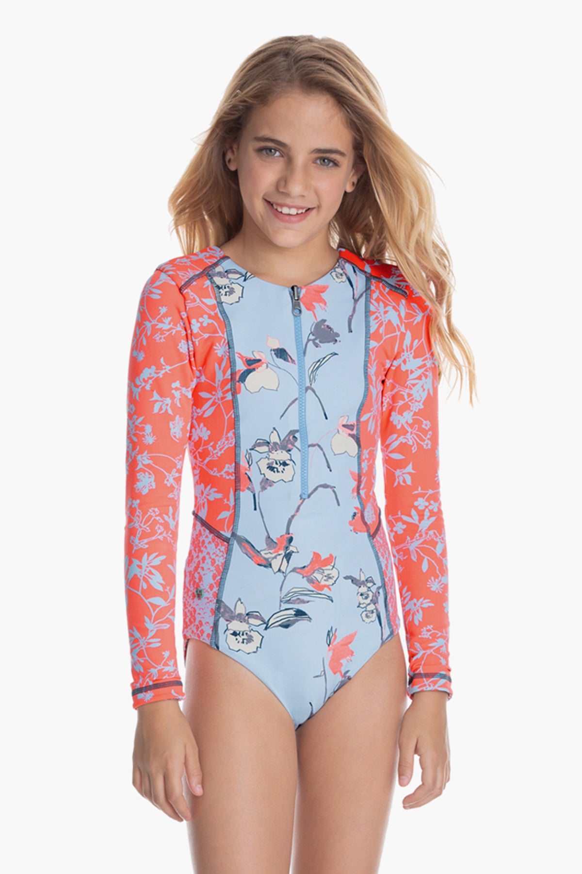 Maaji Ariel's Daydream Girls Rash Guard Swimsuit